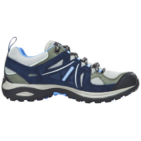Salomon Ellipse 2 Aero Hiking Shoes Women Titanium/Deep Blue/Petunia Blue